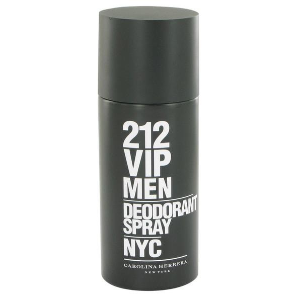 212 Vip by Carolina Herrera Deodorant Spray 5 oz for Men