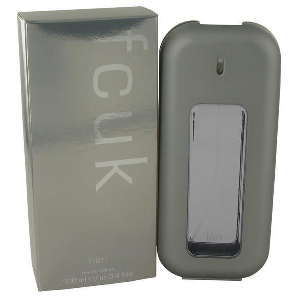 FCUK by French Connection Eau De Toilette Spray 3.4 oz for Men
