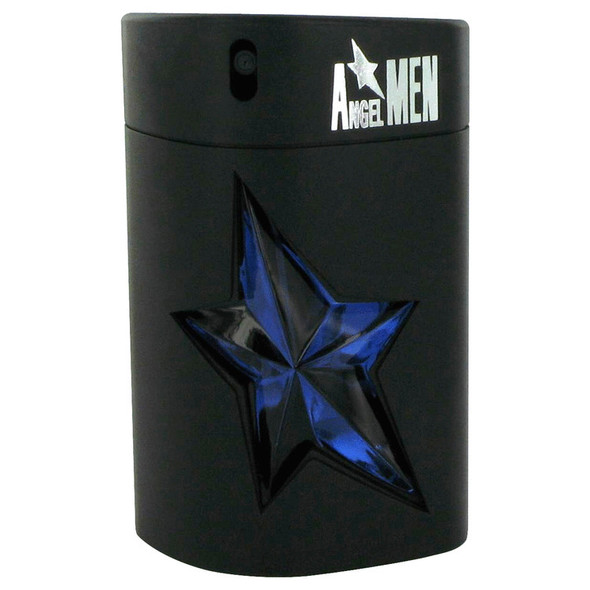 ANGEL by Thierry Mugler Eau De Toilette Spray Refillable (Rubber Tester) 3.4 oz for Men