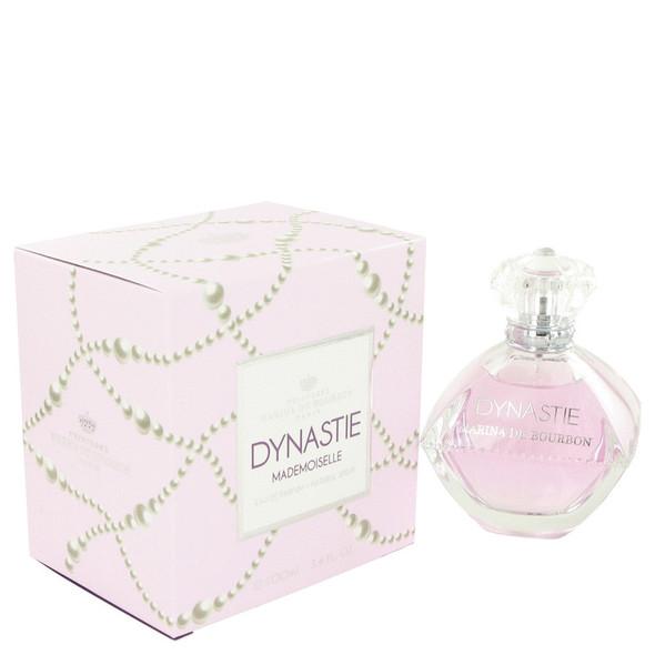 Marina De Bourbon Dynastie Mademoiselle by Marina De Bourbon Eau De Parfum Spray 3.4 oz for Women