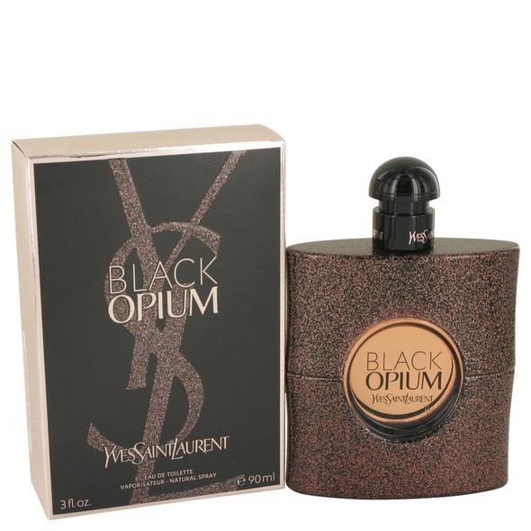 Black Opium by Yves Saint Laurent Eau De Toilette Spray for Women
