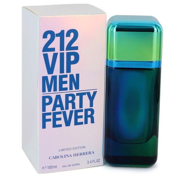 212 Party Fever by Carolina Herrera Eau De Toilette Spray (Limited Edition) 3.4 oz for Men