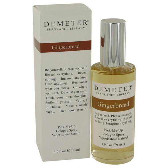Demeter Gingerbread by Demeter Cologne Spray 4 oz for Women