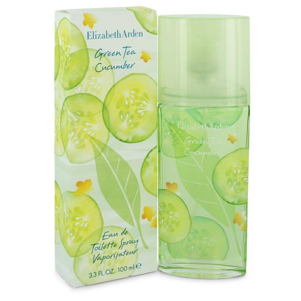 Green Tea Cucumber by Elizabeth Arden Eau De Toilette Spray 3.3 oz for Women