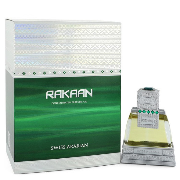 Swiss Arabian Rakaan by Swiss Arabian Concentrated Perfume Oil .85 oz  for Men