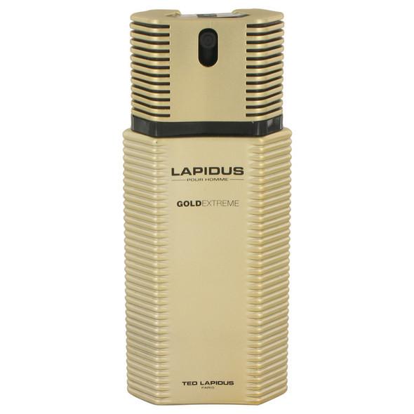 Lapidus Gold Extreme by Ted Lapidus Eau De Toilette Spray 3.4 oz for Men