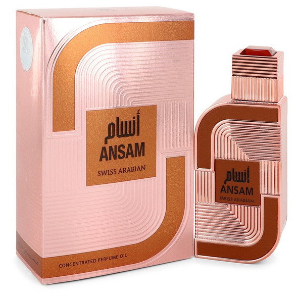 Swiss Arabian Ansam by Swiss Arabian Concentrated Perfume Oil (UniseX) 0.5 oz for Women