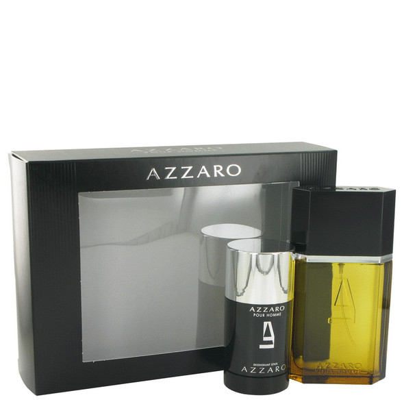 AZZARO by Azzaro Gift Set -- 3.4 oz Eau De Toilette Spray + 2.2 oz Deodorant Stick for Men