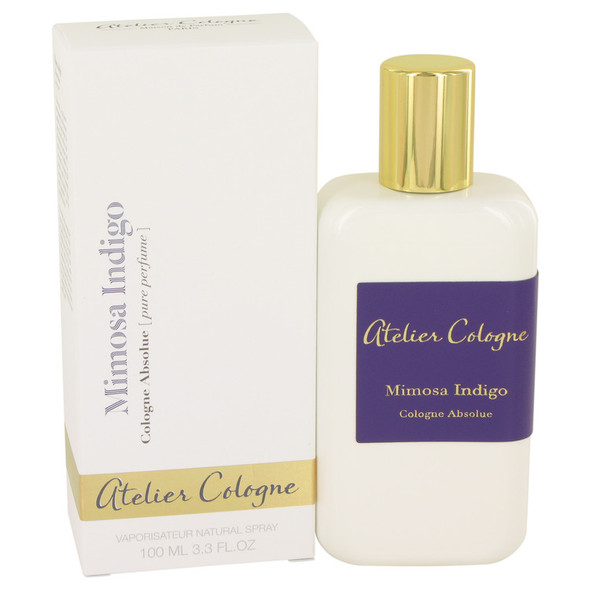 Mimosa Indigo by Atelier Cologne Pure Perfume Spray (Unisex) 3.3 oz for Women