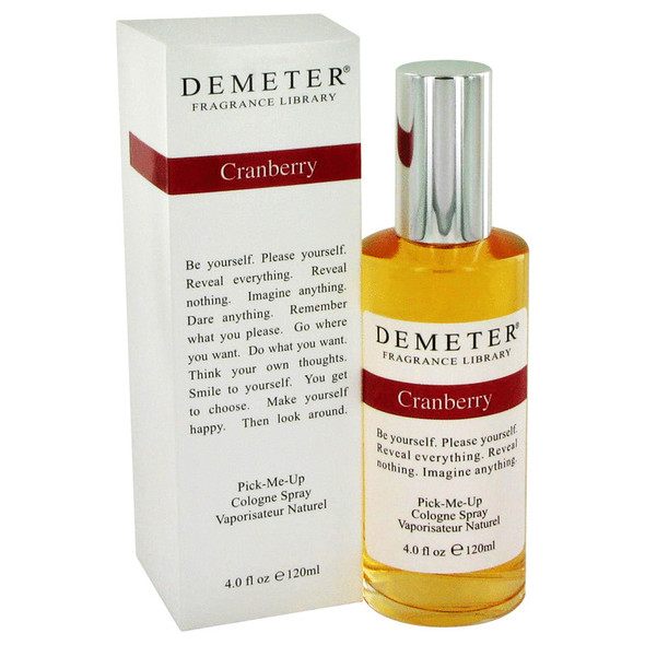 Demeter Cranberry by Demeter Cologne Spray 4 oz for Women