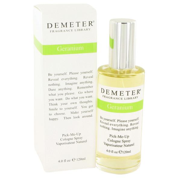 Demeter Geranium by Demeter Cologne Spray 4 oz for Women