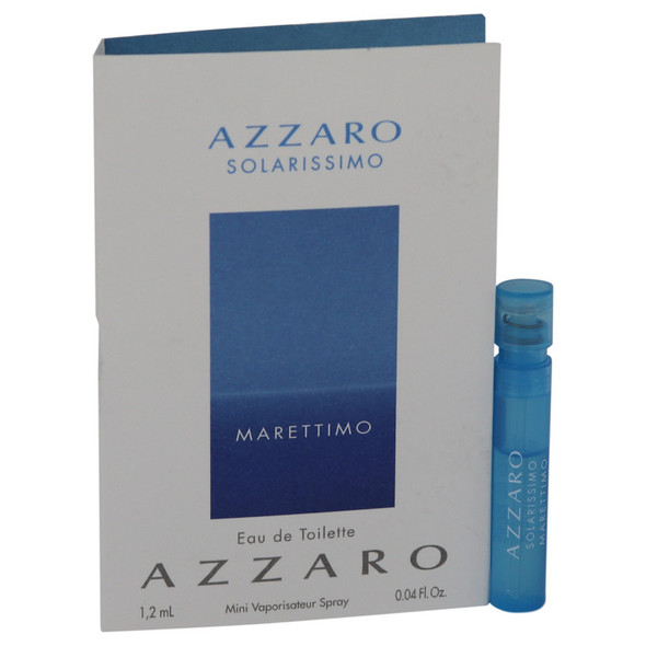 Azzaro Solarissimo Marettimo by Azzaro Vial (Sample) .04 oz for Men