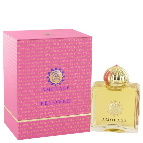 Amouage Beloved by Amouage Eau De Parfum Spray 3.4 oz for Women