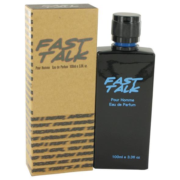 Fast Talk by Erica Taylor Eau De Parfum Spray 3.4 oz for Men