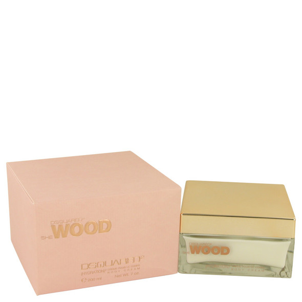 She Wood by Dsquared2 Body Cream 7 oz for Women