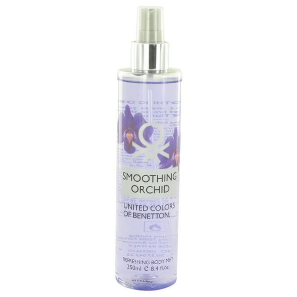 Benetton Smoothing Orchid by Benetton Refreshing Body Mist 8.4 oz for Women