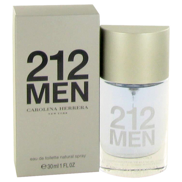 212 by Carolina Herrera Eau De Toilette Spray for Men