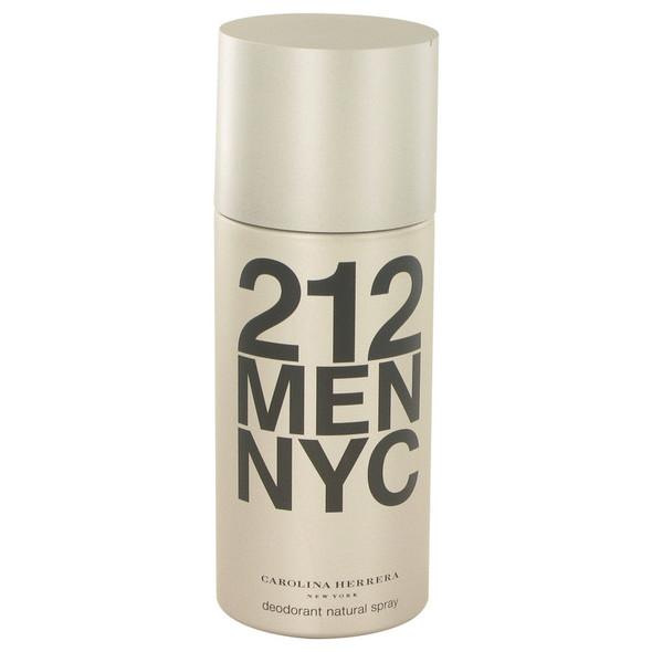 212 by Carolina Herrera Deodorant Spray 5 oz for Men