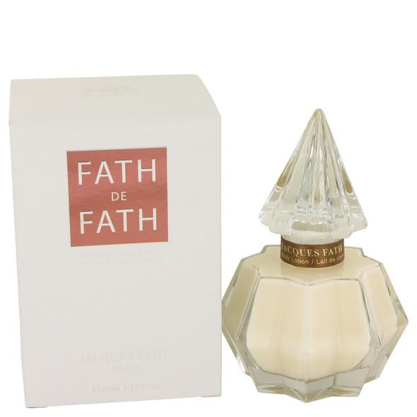 FATH DE FATH by Jacques Fath Body Lotion 3.4 oz for Women
