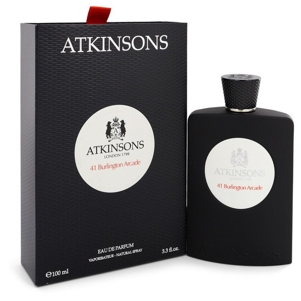 41 Burlington Arcade by Atkinsons Eau De Parfum Spray (Unisex) 3.3 oz for Women