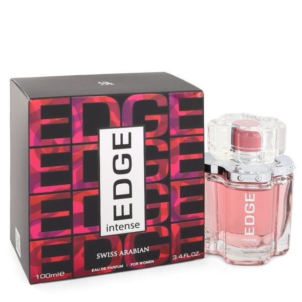 Edge Intense by Swiss Arabian Eau De Parfum Spray 3.4 oz for Women
