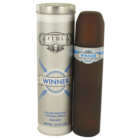 Cuba Winner by Fragluxe Eau De Toilette Spray 3.4 oz for Men