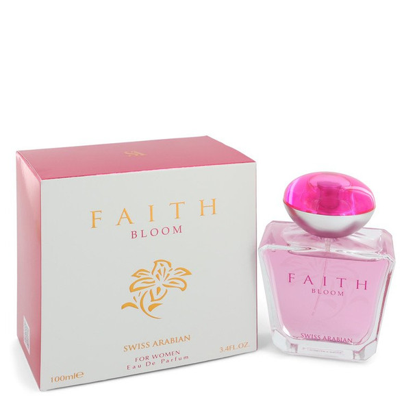 Swiss Arabian Faith Bloom by Swiss Arabian Eau De Parfum Spray 3.4 oz for Women