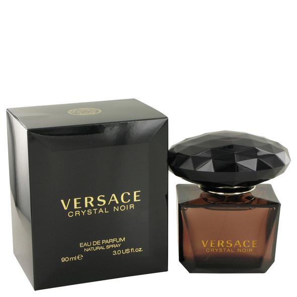 Crystal Noir by Versace Eau De Parfum Spray 3 oz for Women