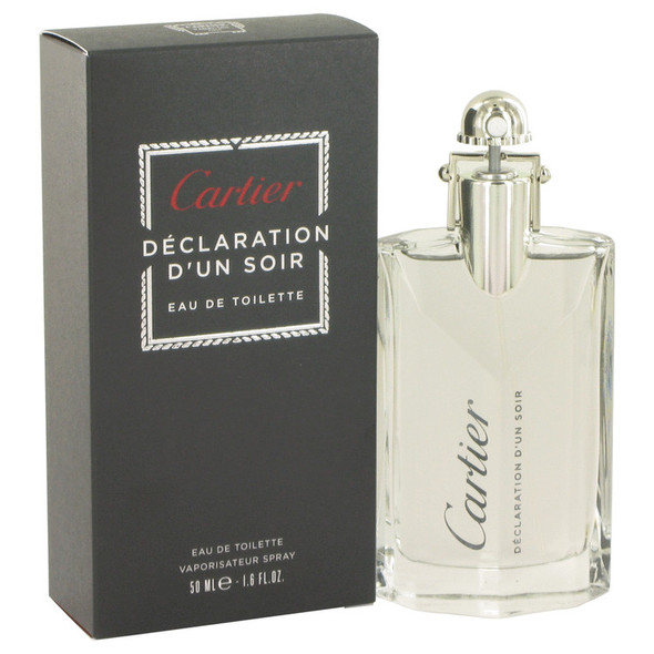 Declaration D'un Soir by Cartier Eau De Toilette Spray for Men