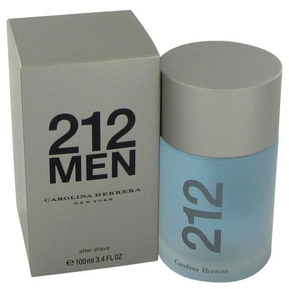 212 by Carolina Herrera After Shave 3.4 oz for Men