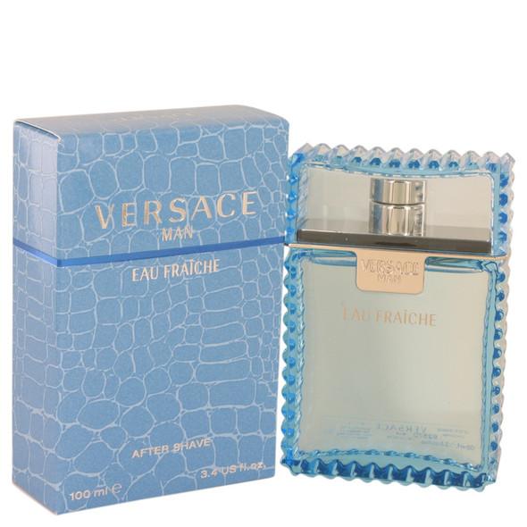 Versace Man by Versace Eau Fraiche After Shave 3.4 oz for Men