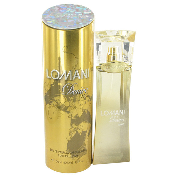 Lomani Desire by Lomani Eau De Parfum Spray 3.4 oz for Women