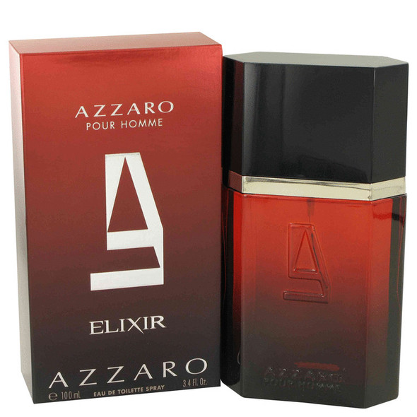 Azzaro Elixir by Azzaro Eau De Toilette Spray 3.4 oz for Men