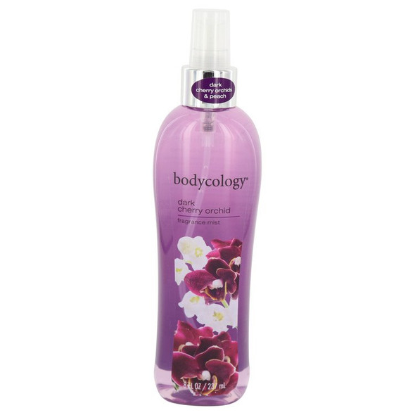 Bodycology Dark Cherry Orchid by Bodycology Fragrance Mist 8 oz for Women
