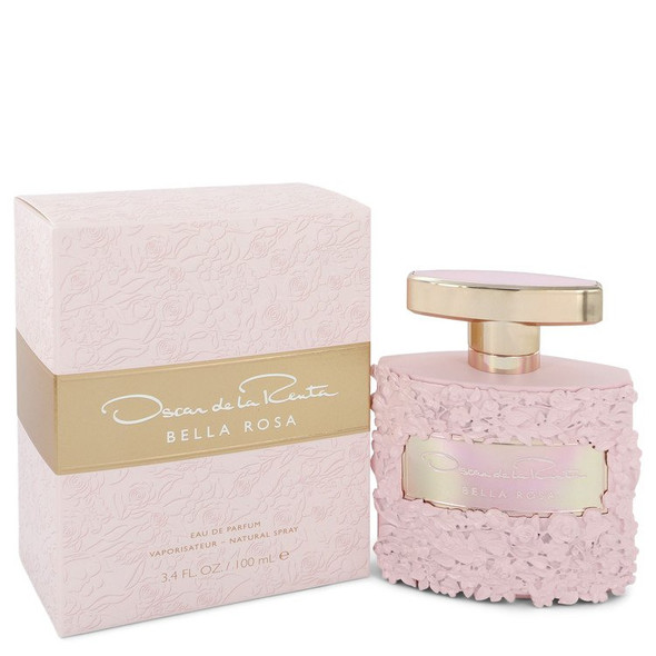 Bella Rosa by Oscar De La Renta Eau De Parfum Spray 3.4 oz for Women