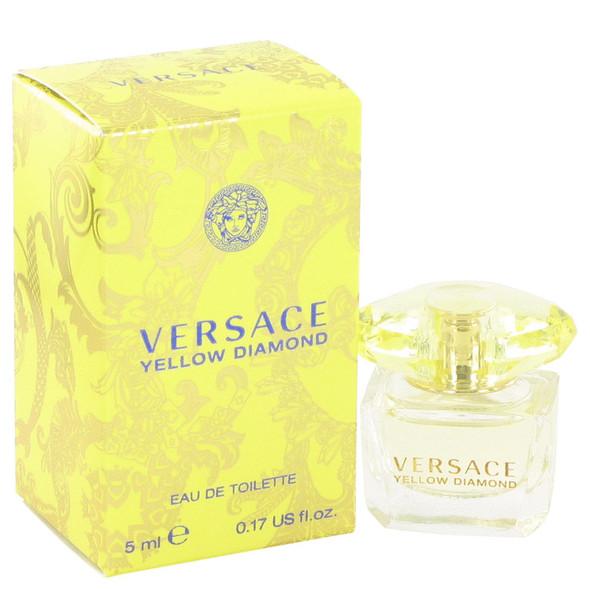 Versace Yellow Diamond by Versace Mini EDT .17 oz for Women