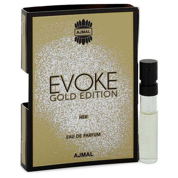 Evoke Gold by Ajmal Vial (sample) .05 oz for Women