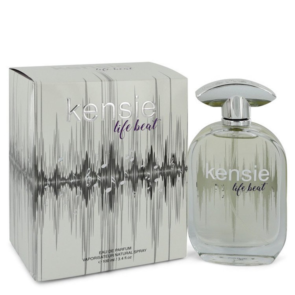 Kensie Life Beat by Kensie Eau De Parfum Spray 3.4 oz for Women