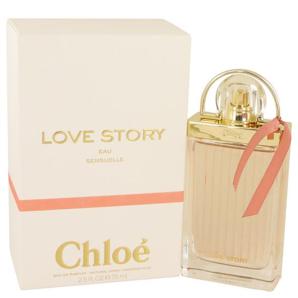 Chloe Love Story Eau Sensuelle by Chloe Eau De Parfum Spray for Women