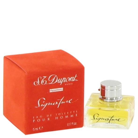 SIGNATURE by St Dupont Mini EDT .17 oz for Men