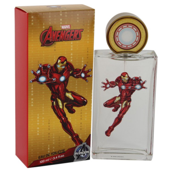 Iron Man Avengers by Marvel Eau De Toilette Spray 3.4 oz for Men