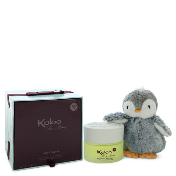 Kaloo Les Amis by Kaloo Alcohol Free Eau D'ambiance Spray + Free Penguin Soft Toy 3.4 oz for Men