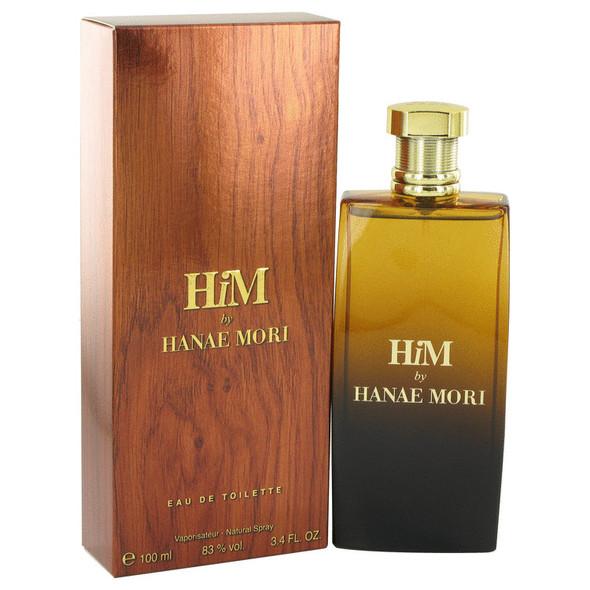 Hanae Mori Him by Hanae Mori Eau De Toilette Spray for Men
