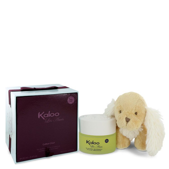 Kaloo Les Amis by Kaloo Eau De Senteur Spray / Room Fragrance Spray (Alcohol Free) + Free Fluffy Donkey for Men