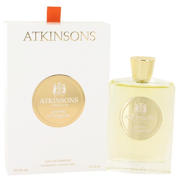 Jasmine in Tangerine by Atkinsons Eau De Parfum Spray 3.3 oz for Women