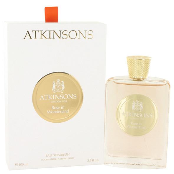 Rose in Wonderland by Atkinsons Eau De Parfum Spray 3.3 oz for Women