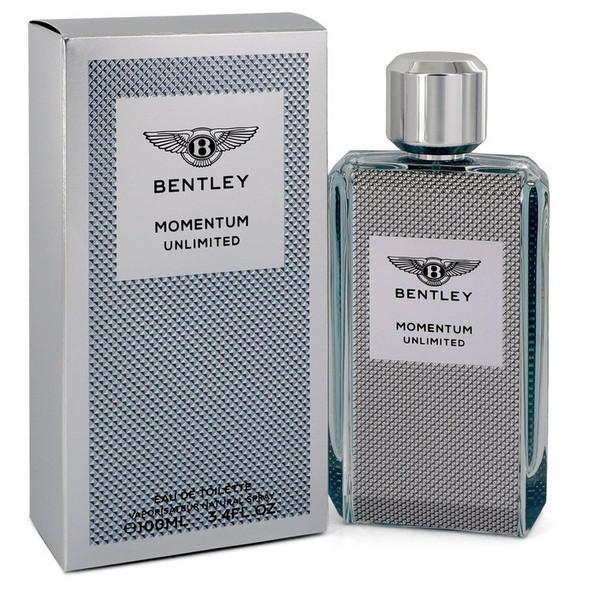 Bentley Momentum Unlimited by Bentley Eau De Toilette Spray 3.4 oz for Men