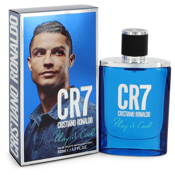 CR7 Play It Cool by Cristiano Ronaldo Eau De Toilette Spray for Men