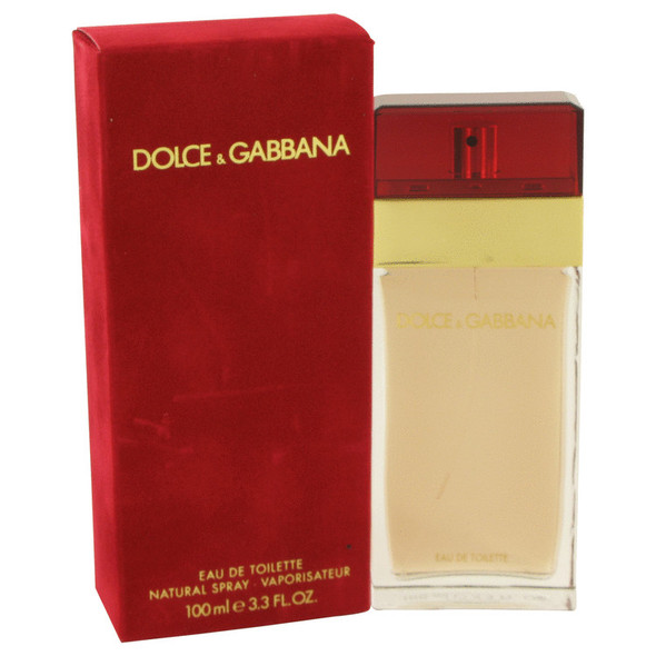DOLCE & GABBANA by Dolce & Gabbana Eau De Toilette Spray 3.3 oz for Women