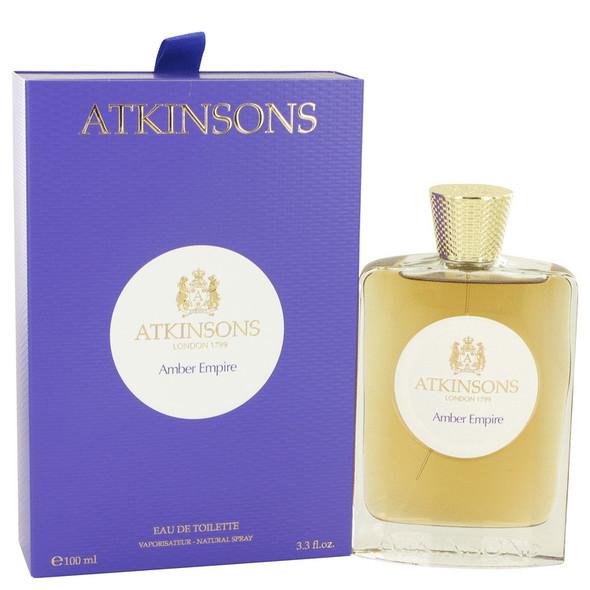 Amber Empire by Atkinsons Eau De Toilette Spray 3.3 oz for Women
